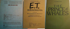 Uncorrected Proof Books Terminator, E.T., Prince of Whales - Unique Paperbacks