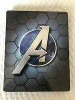 Marvel's Avengers: Earth's Mightiest  Edition Steelbook  and GAME(PS4)