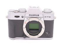 Fujifilm X Series X-T10 16.3MP Digital Camera - Silver (Body Only)