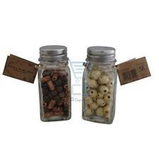 Perline sfuse di legno marrone