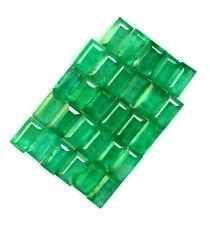 Natural Emerald Baguette Cut 3.50x2 mm Lot 29 Pcs 2.69 Cts Green Loose Gemstones