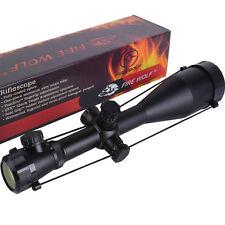 *6-24x60/E* Sniper Zielfernrohr Leuchtabsehen Neu FireWolf Riflescope Luftgewehr