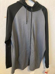 NWT Big & Tall Reebok Speedwick Full-Zip Hooded Sweat sport running Crossfit