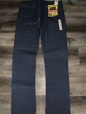 Wrangler ~ NOS Vtg  Men's Pro Rodeo Blue Denim Jeans Cowboy Cut ~ 44/38