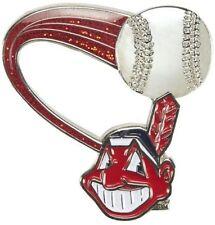 Cleveland Indians MLB Baseball Glitter Trail Logo Collectors Lapel Pin