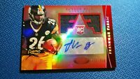 Le'Veon Bell 2013 Certified Freshman Fabric Jersey Patch Auto RC /250