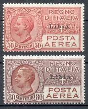ITAL KOL LIBYEN 1928 66-67 ** MNH POSTFRISCH LUXUS (48465