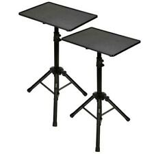 Pyle PLPTS3X2  2 piece Universal Laptop Projector Tripod Stand Height Adjustable
