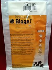 10 Pair BIOGEL Pl GLOVES Size 5.5 Latex Free Synthetic Surgical 40855 2016