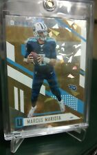 2017 Unparalled Marcus Mariota Tennessee Titans SP Cracked Ice Refractor# 1 of 1