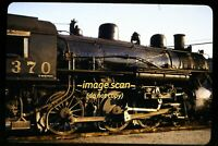 SP Southern Pacific 4-6-0 #2370 at Los Angeles in 1953, Original Slide e6a