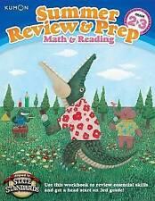 NEW Kumon Summer Review & Prep Workbooks 2-3 by Kumon Publishing