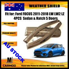 Weather Shield WeatherShield fit Ford FOCUS 2011-2018 LW LW2 LZ SEDAN 5D HATCH