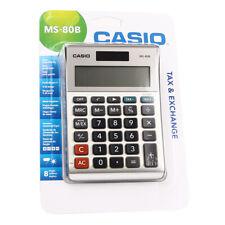 Tischrechner Casio MS 80 Taschenrechner Rechner große Tasten