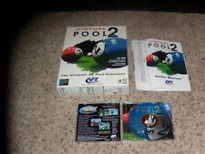 Virtual Pool 2 (PC, 1997) Complete with box and manual