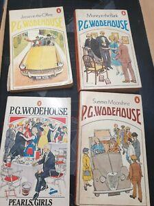 4 P G Wodehouse Joblot - 2 books signed by Alexandra Lucas