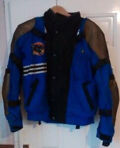 HEIN GERICKE  textile   Motorcycle Jacket  -blue   size 58eu  3XL  many features