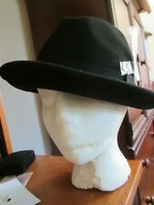 mens nwt new black hats in the bellfry large wool hat BF