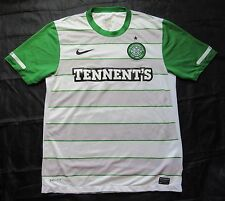 CELTIC GLASGOW away shirt by NIKE 2011-2012 The Bhoys Hoops  Celts /men/ M
