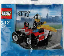 Lego City 30010 Fire Chief / fireman truck polybag Bn sealed retired