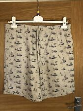john lewis Organic Cotton Lounge Shorts Size L