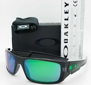 [OO9239-02] Mens Oakley Crankshaft Sunglasses Black Frame Jade Iridium Lens