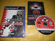 PS2 GAME: CODE OF THE SAMURAI-SONY PLAYSTATION-Gioco-Games-Pal-ITALIANO-ITA