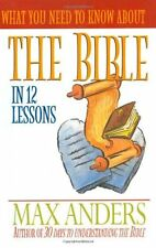 What You Need To Know About The Bible In 12 Lesson