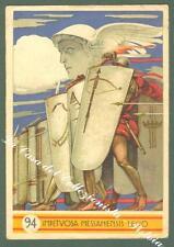 94  REGGIMENTO FANTERIA MESSINA. Cartolina d'epoca viaggiata nel 1936.