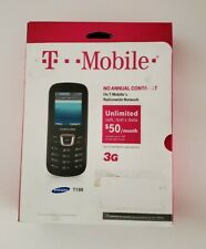 T-Mobile Samsung SGH T199 Prepaid No contract 3G Cell Phone New Never Opened