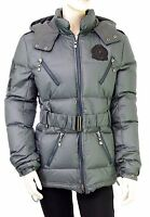 VESTIAIRES PRINCIPAUTE CANNOISE doudoune coloris gris duvet femme taille  S