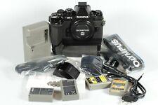 Olympus E-M1 OM-D 16 MP Digitalkamera - Schwarz, Zubehörpaket