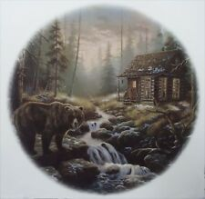 Brown Bear Cabin River Select-A-Size Ceramic Waterslide Decals Xx