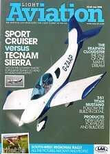 Light Aviation Magazine 2008 July Rearwin Cloudster,Sportcruiser,T-51