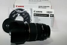 Canon EF-S 17-55mm F/2.8 IS USM Lens Boxed with generic lens hood