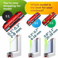 Magnetic Window Cleaner For Hard To Reach Outer Window Side Glider 0.08-1.1''