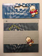 Rare Vintage Sanrio 1996 Ahiru No Pekkle 8 Diskette Labels New In Package