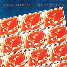 "7"" Dire Straits – Calling Elvis / Iron Hand // Germany 1991"