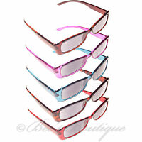 Reading Sunglasses Plastic Frame +1 +1.5 +2 +2.5 +3 Mens Ladies Sun Glasses Spec