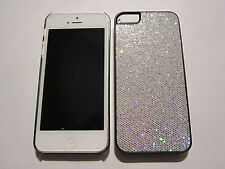 White Fashion Glitter iPhone SE 5S 5G 5 DIAMOND BLING Designer Full Case NEW