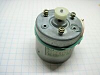 Mabuchi Motor EG-510ED-9B 9VDC 2400 RPM CCW Tested