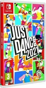 Just Dance 2021 SWITCH NUOVO SIGILLATO ITA
