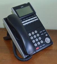 Nec Dtl-12D-1 Bk Tel Dt300 Series Phone Dlv(Xd)Z-Y(Bk) 680002 Tested Yr Warranty