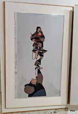 Rare Large Walt Disney Animation Mulan Ling Chien-po Limited Edition Cel #74/96