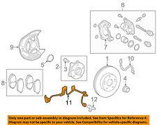 89516-30050 Toyota Wire, skid control sensor 8951630050