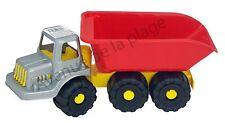 Camion de chantier 35 cm en plastique, enfant, jouet, jeux pas cher neuf