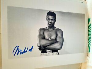 "Muhammad Ali ""Boxing Champion"" Authentic Autograph 8x10 Photo"