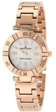 Anne Klein Watch Swarovski Crystal Mother-of-Pearl Dial Rosegold-Tone Bracelet