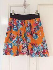 Zara Cotton Blend A-Line Skirts for Women