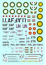 Hi Decals 1/72 NORTH AMERICAN F-86F-25/30 SABRE JET (F-40 Wing)